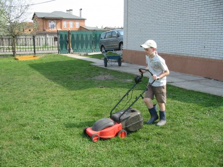 It's officially lawn-mowing season!