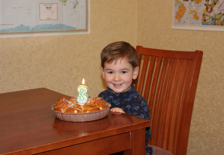 Happy 3rd Birthday, Matviyko!