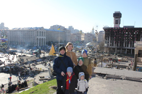At Maidan (pronounced 'my-DON')