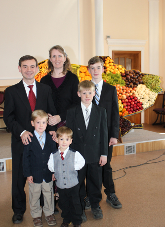 Harvest Day at our church