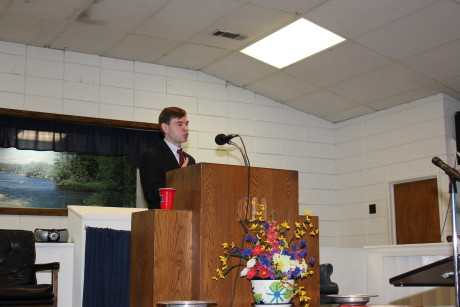 Preaching in Jackson, MS