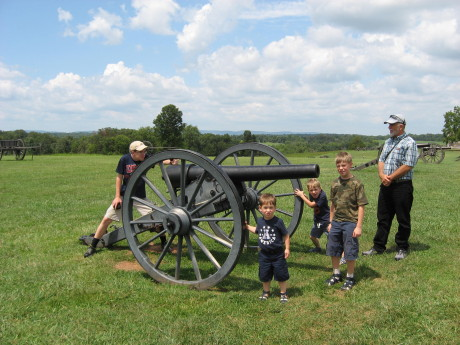 At the Manassass Battlefield Park