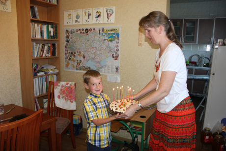 Happy 8th Birthday, Andriy!