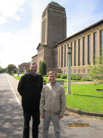 Philip and I by the University of Cambridge library