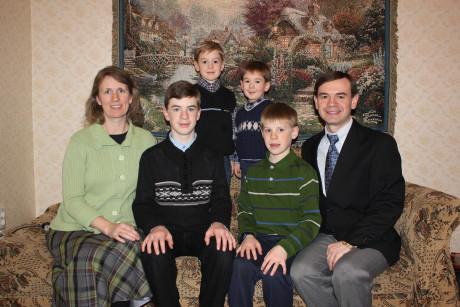 Family shot at Sashko's birthday