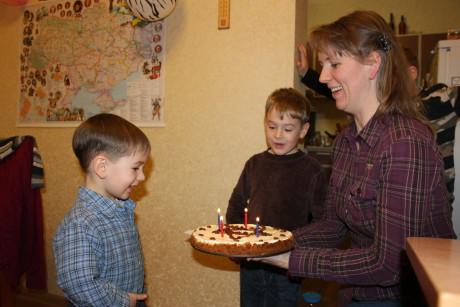 Happy 4th Birthday, Matviy!