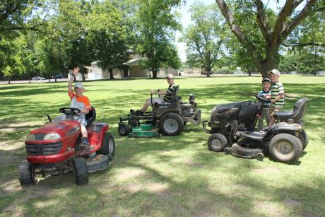 The yard crew